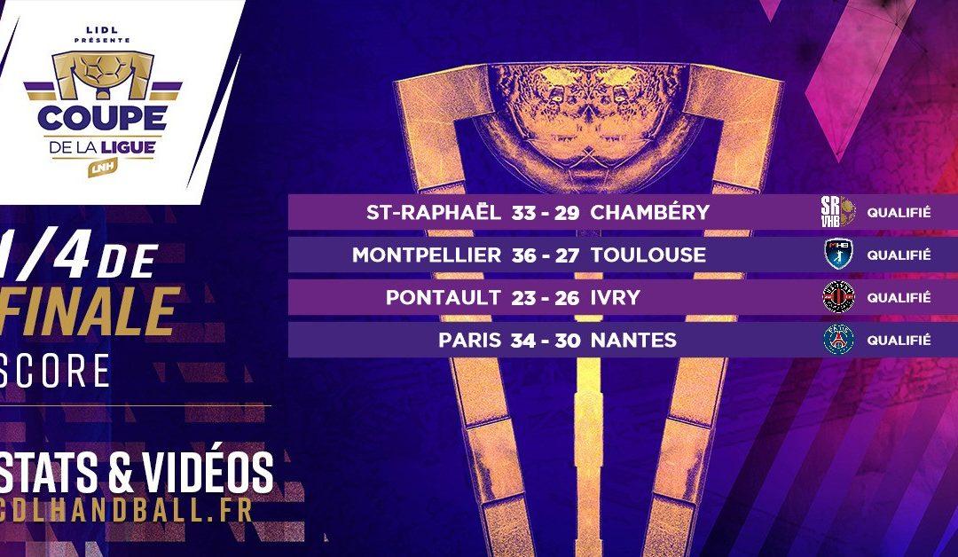 IVRY, MONTPELLIER, PARIS ET ST-RAPHAËL AU FINAL4