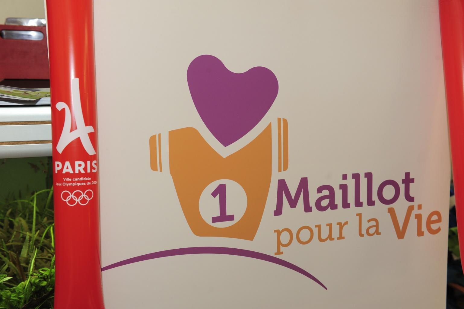 UN MAILLOT POUR LA VIE ! Visite à l'hopital Paris R. Debré (Un maillot pour la vie)