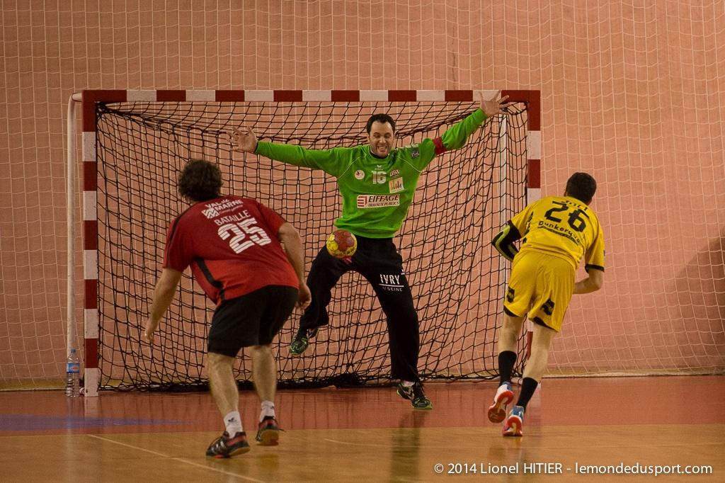 Journée 15 - US IVRY - DUNKERQUE  (© Lionel Hitier www.lemondedusport.com)