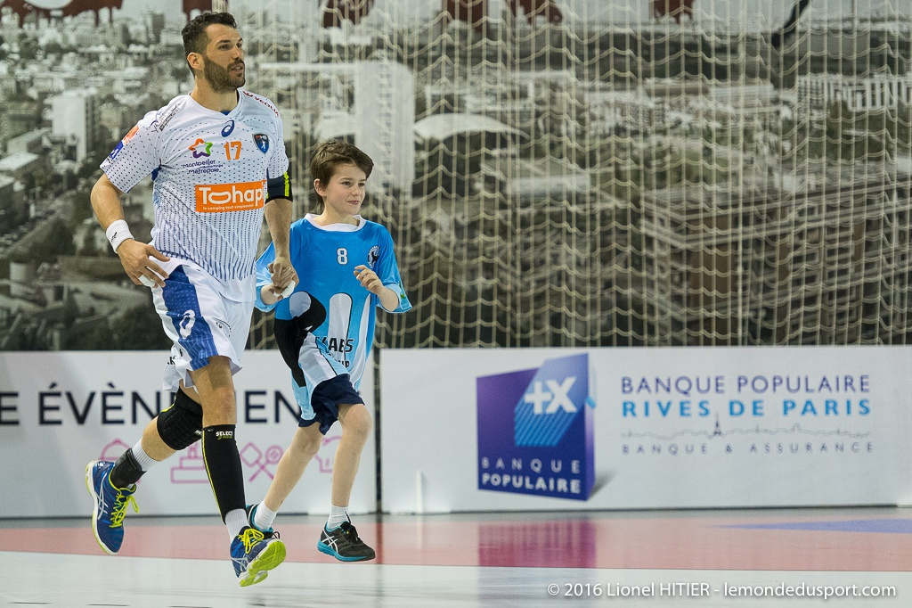 HBC ARCUEIL au match USI - MAHB (Lionel Hitier - www.lemondedusport.com)
